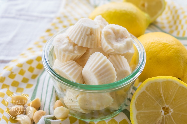 Lemon Macadamia Fat Bombs